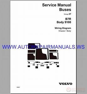 Volvo B7r Wiring Diagram Service Manual Buses