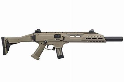 Scorpion Cz 9mm Fde Suppressor Faux Carbine