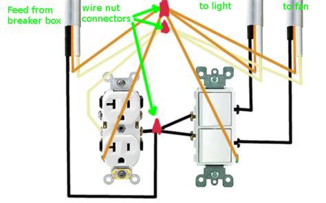 gfi wiring diagrams fan and light 33 wiring diagram
