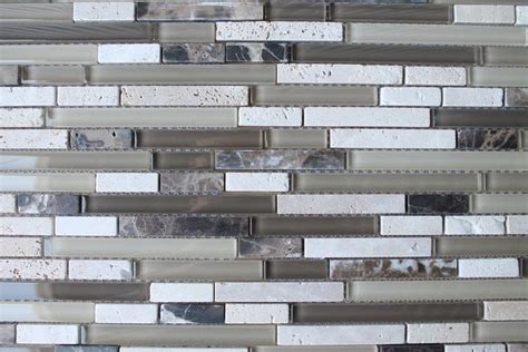 bliss linear mosaic bliss cappucino stone and glass linear mosaic tiles rocky point tile glass and mosaic tile store