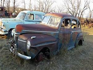 1941 Mercury 4 Door Sedan Flathead 8 Manual For Sale