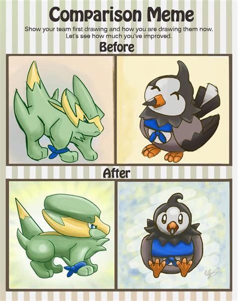 Comparison Meme - electric wings comparison meme by lonemaximal on deviantart