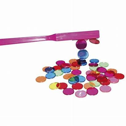 Magnetic Chips Wand Wands Autism Learning Bingo