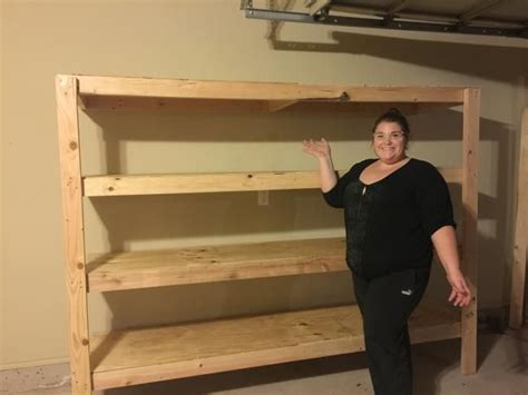 Garage Shelving Projects by No Cutting Diy Garage Shelving Garage Workshop Tutorials