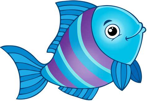 Мультяшные рыбки и морские зверушки
