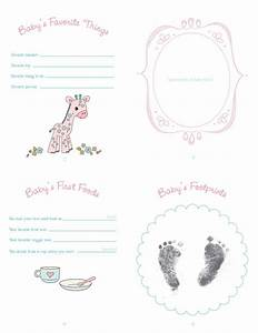 baby book p2 backpdf free templates 3d printables With free printable baby book templates