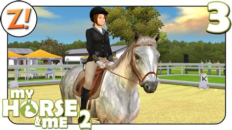 horse    unser erstes turnier  lets play