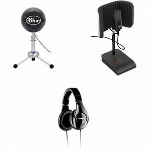Blue Snowball Usb Microphone Podcast Kit User Manual Guide
