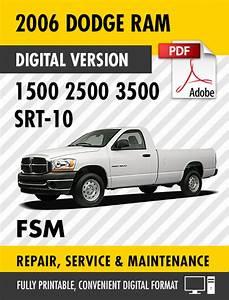 2006 Dodge Ram Trucks 1500 2500 3500 Srt