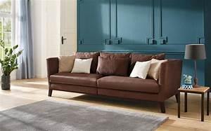 Sofa Home Affaire : home affaire big sofa kim mit holzbeinen und vielen losen kissen online kaufen otto ~ Orissabook.com Haus und Dekorationen