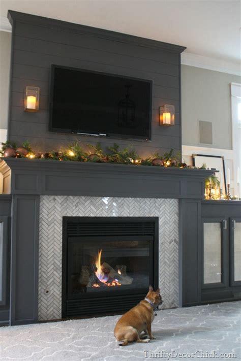 Black Fireplace - beautiful gray black fireplaces