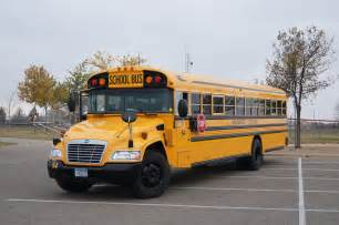Blue Bird Vision School Bus