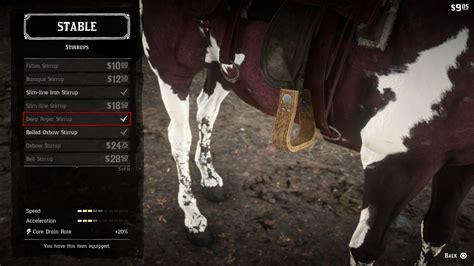 dead redemption horses horse stables polygon rockstar tack guide via games