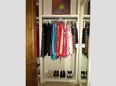 recommendation ideas for organizing a closet