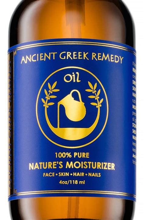 natures moisturizer ancient greek remedy oil by bliss of