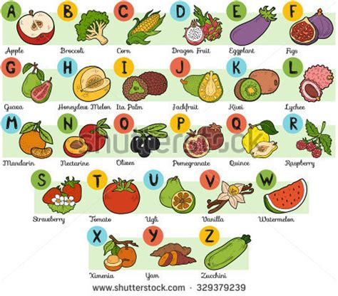 fruit that starts with the letter i food that starts with the letter u food