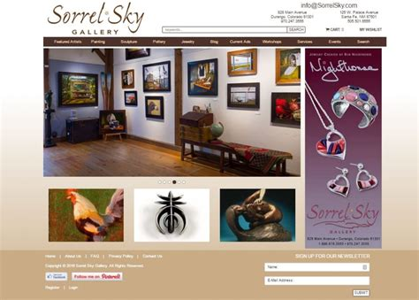 Contemporary Art Website Templates by Art Gallery Website Templates Masterpiece Manager