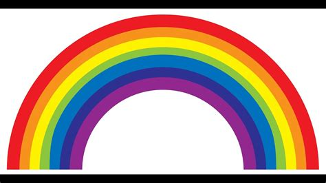 what are the rainbow colors colours of the rainbow tag