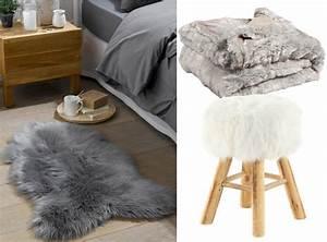 ou trouver de la deco en fausse fourrure joli place With tapis de yoga avec plaid canapé fausse fourrure
