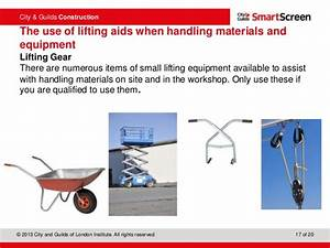 Unit 201 Health  Safety And Welfare In Construction