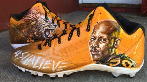 Heart and sole: AB to feature Shazier on cleats - Sports ...