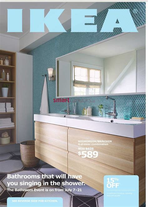 wall mounted ikea bathroom event flyer july 7 to 21