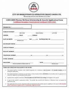 Scholarships applications forms fill online printable for Scholarship forms template