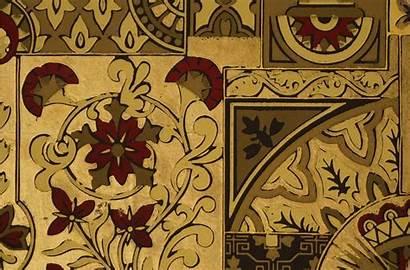 Aesthetic Flower Regal Accent Panel Antique Romanesque