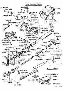 Toyota Land Cruiser Bearing  For Steering Main Shaft