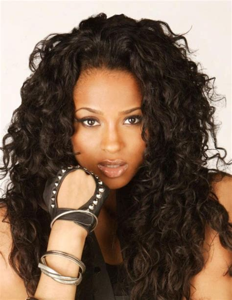 attractive messy black long hairstyles for women 2017