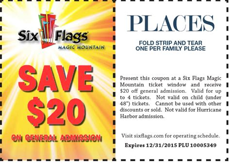 19928 Six Flags Tickets Coupons Discounts by Six Flags Discovery Kingdom Coupons Cleaning