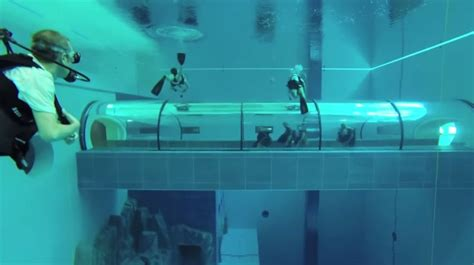 Y-40 Swimming Pool Will Be The Deepest In The World