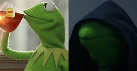 Meme Vs Meme Evil Kermit Vs But Thats None Of My