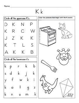 letter k worksheets 5 letter k worksheets alphabet phonics worksheets 9509