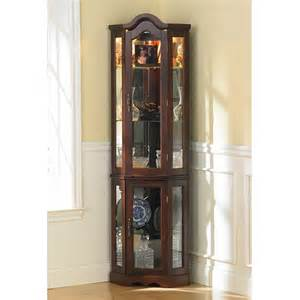 small corner units for living room from white wood with