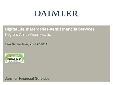 digital life  mercedes benz financial services