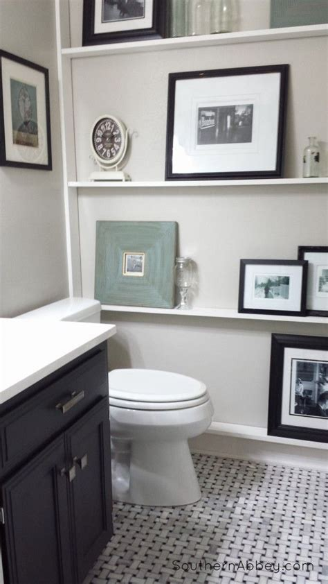 Half Bathroom Makeovers by Diy Show Half Bathrooms Shelves And Bathroom Makeovers