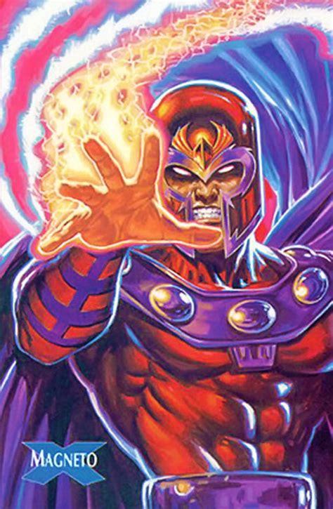 magneto marvel comics card robot writeups character trading adrtismnt profile invincible magnus