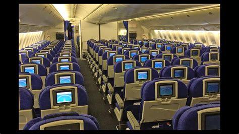 Boing 777 Interior by Airways Boeing 777 200 Cabin Tour And Walk Around