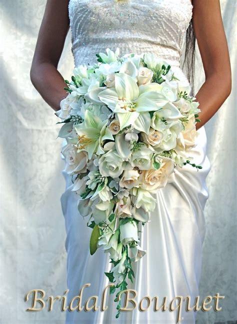 beautiful princess natural wedding bouquets bouquet silk