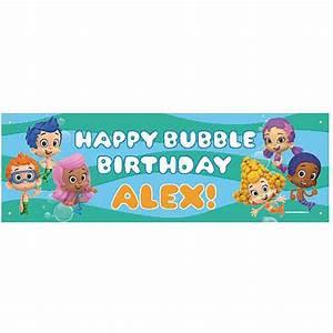 Bubble Guppies Birthday Banner Template Ialovenifo