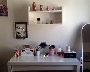 Table De Maquillage Ikea : mon rangement maquillage purple dream blog beaut et ~ Teatrodelosmanantiales.com Idées de Décoration