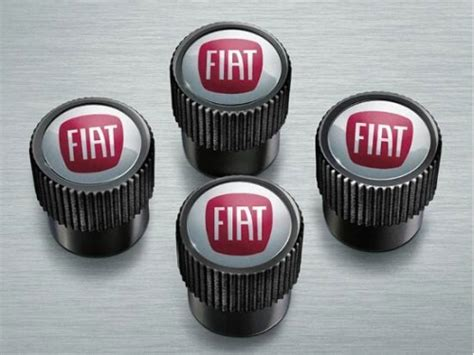 fiat  key covers red metallic black part