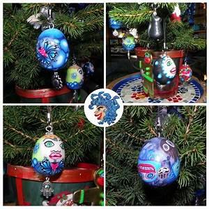 Mini Boule De Noel : boules de no l en fimo minis visages la m duse du fium 39 orbu ~ Dallasstarsshop.com Idées de Décoration