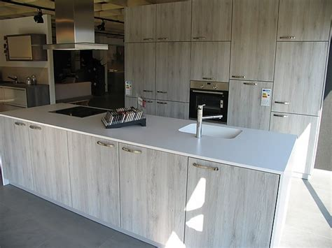 Schüllermusterküche Moderne Holzgraue Inselküche Mit