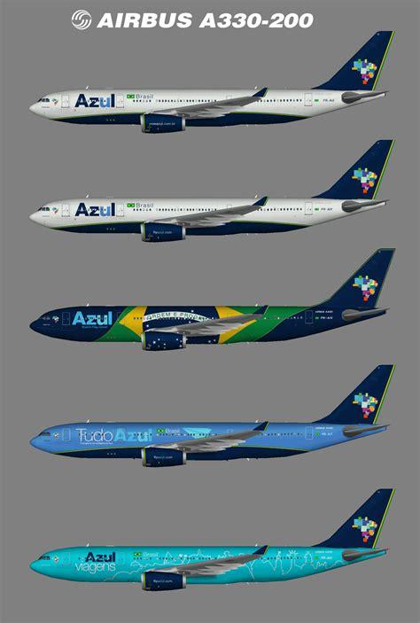 AZUL Airbus A330 200 ? Juergen's paint hangar