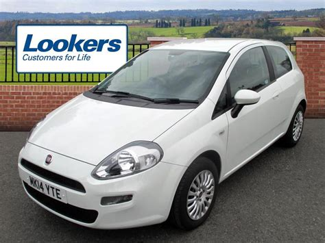 Used 2014 Fiat Punto 12 Pop 3dr For Sale In Chesire
