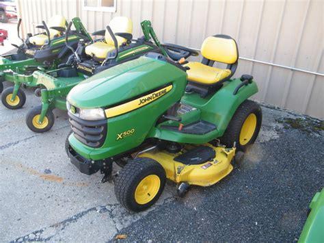 deere x500 attachments deere x500 lawn garden tractors for 62432 4906