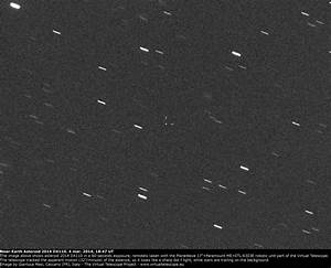 Near-Earth Asteroid 2014 DX110 getting close: an image (4 ...