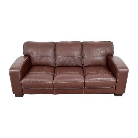 bobs leather sofa sofa bobs furniture living room atlas leather sofa bobs 1753